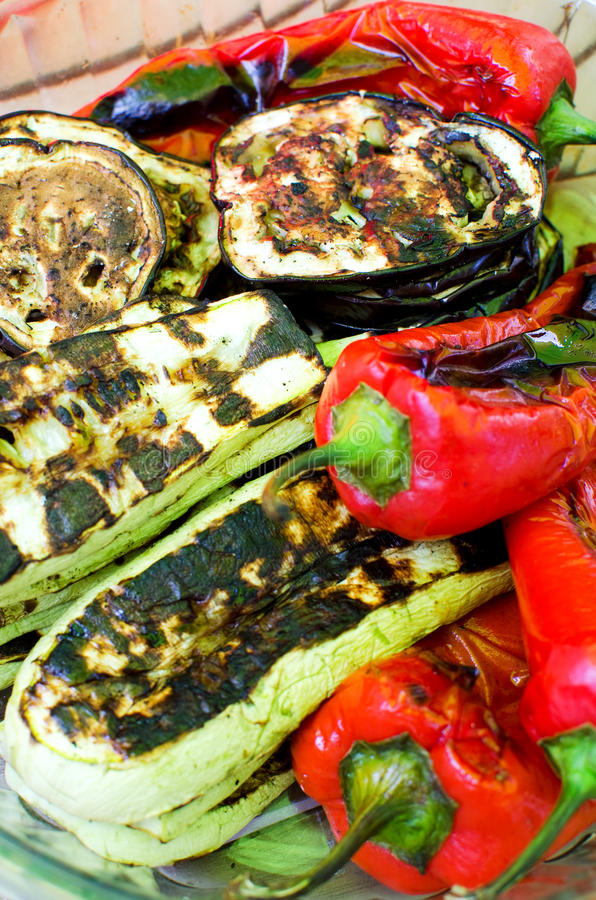 Download Grilled vegetables stock photo. Image of cooking, cooked - 19903880