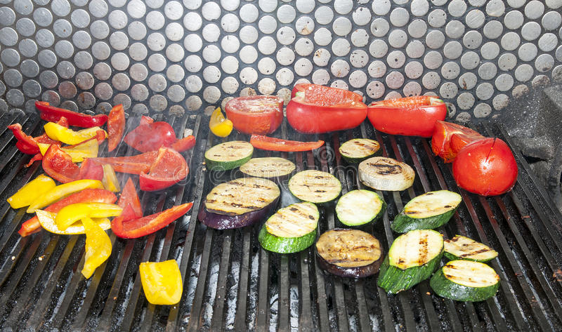 Download Grilled vegetables stock image. Image of nourishment - 26092583