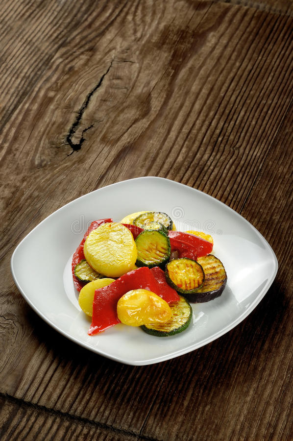 Download Grilled vegetables stock photo. Image of dish, italy - 28435230