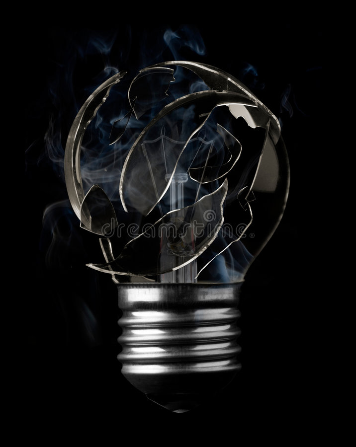 Grillez l'ampoule photos libres de droits