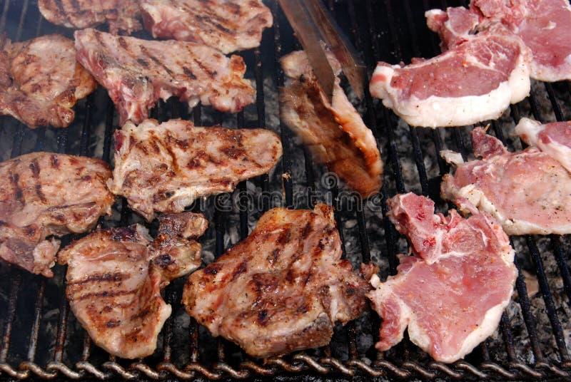 grillfest 02 fotografering för bildbyråer