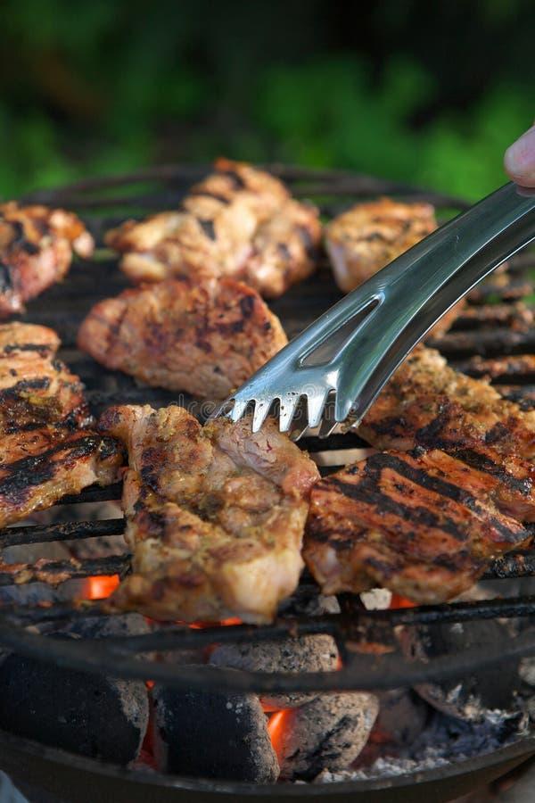 grillfest arkivfoto