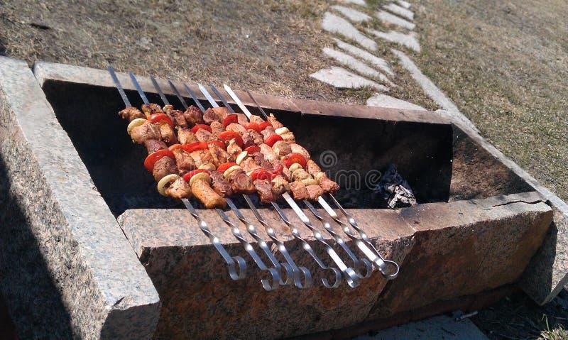 grillfester arkivfoton