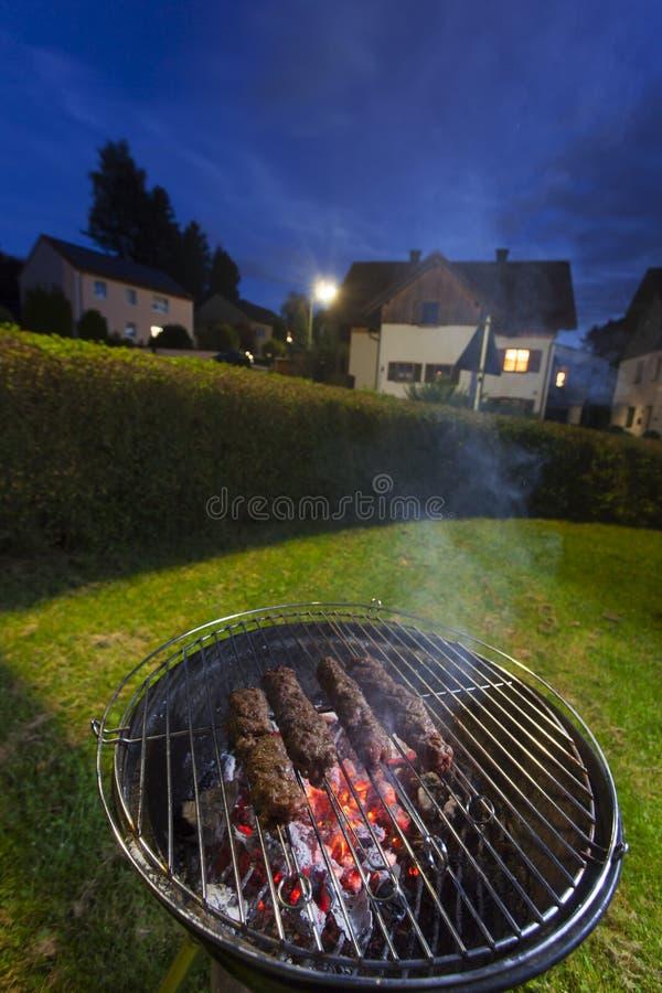 grillfester royaltyfria foton