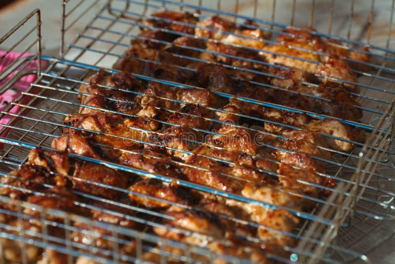 grillfester Höna royaltyfri foto
