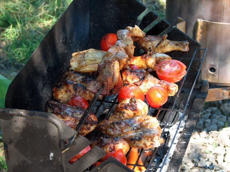 grilling στοκ εικόνες