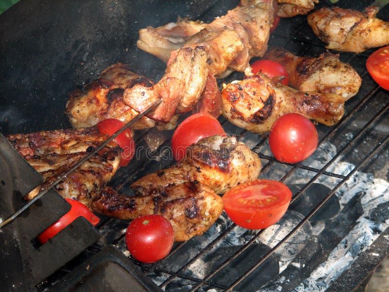 grilling στοκ εικόνα