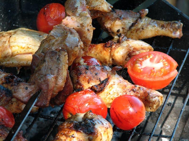 grilling στοκ εικόνες με δικαίωμα ελεύθερης χρήσης