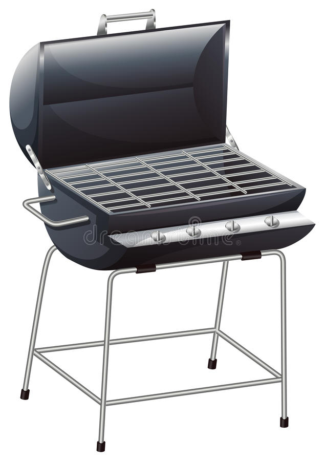 A grilling device vector illustration