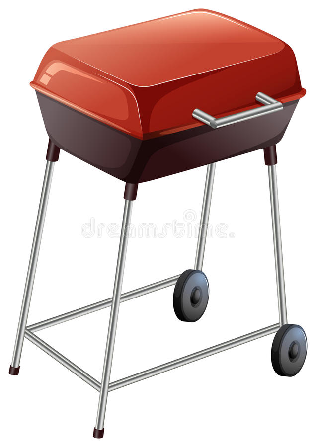 A grilling device royalty free illustration