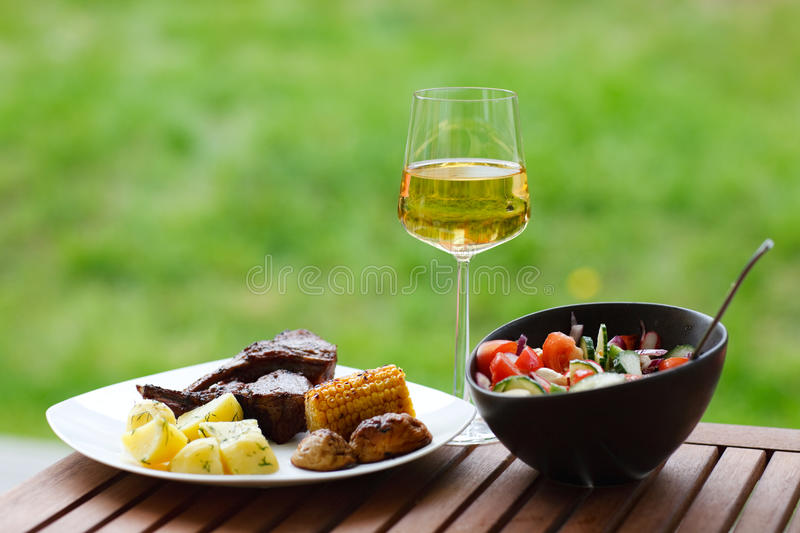 Download Grilling at summer weekend stock photo. Image of fresh - 12998124
