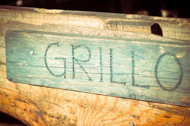Grillo royalty-vrije stock foto