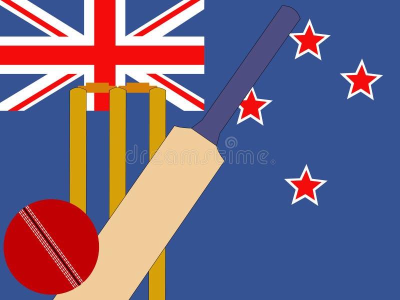 Grillo della Nuova Zelanda illustrazione vettoriale