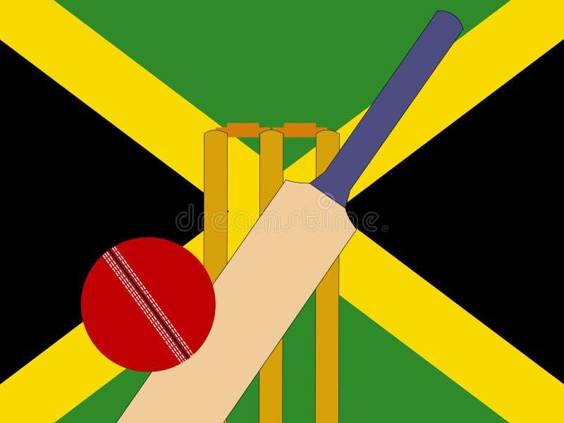 Grillo giamaicano illustrazione vettoriale