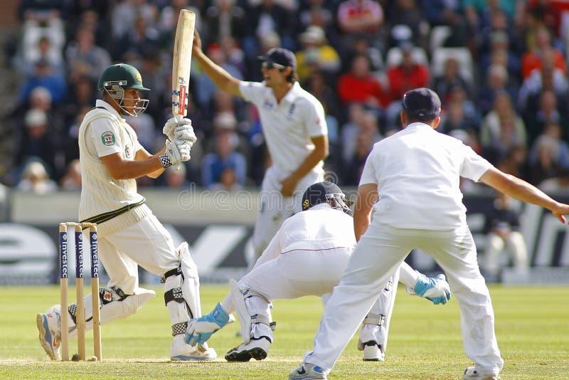 Grillo: Inglaterra v Australia 4ta incinera el día cuatro de la prueba imágenes de archivo libres de regalías