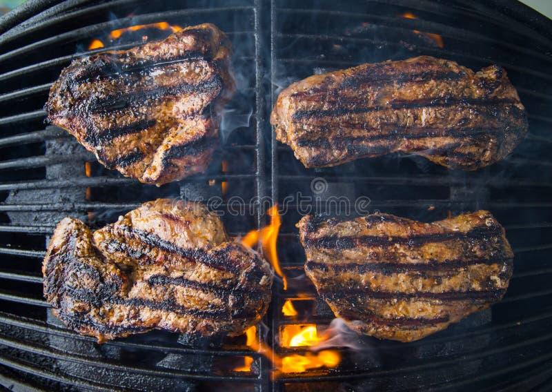 grillowany stek obrazy stock