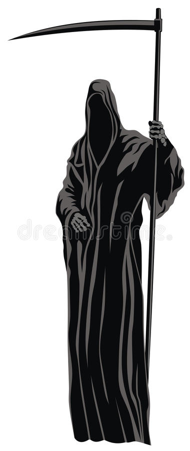 the grim reaper stock vector illustration of mythical
