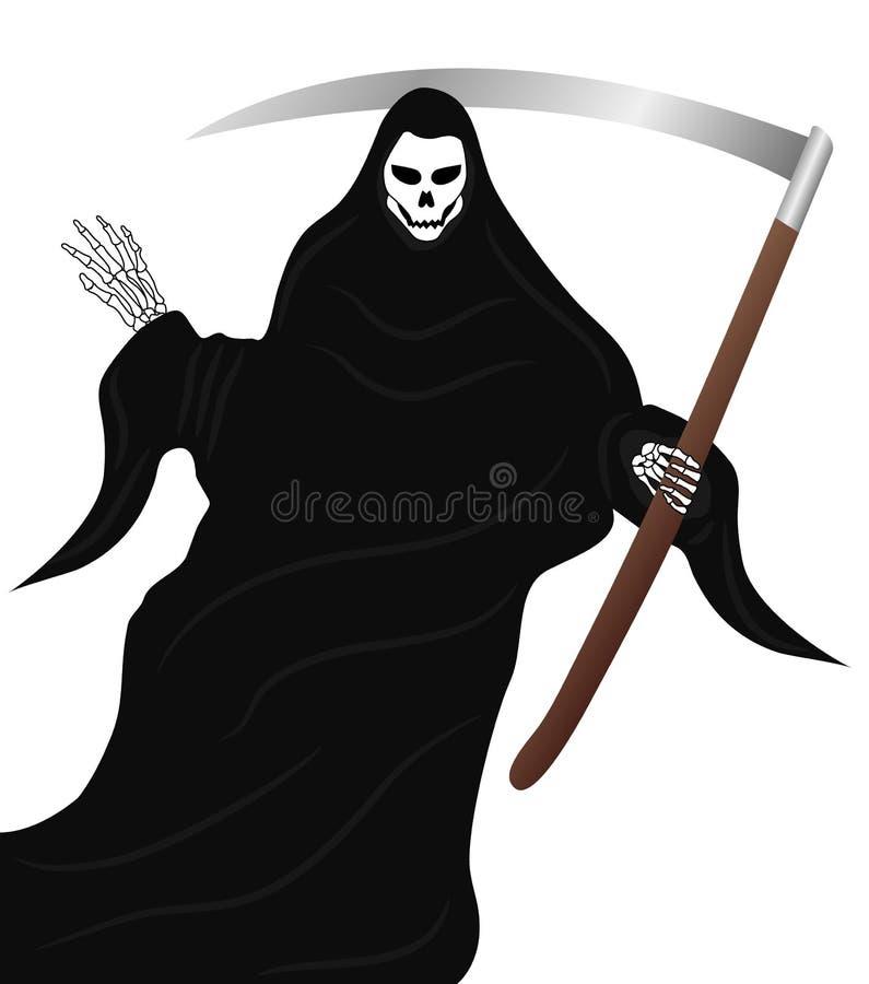 Download The Grim Reaper stock vector. Image of cloak, grim, metal - 19214970