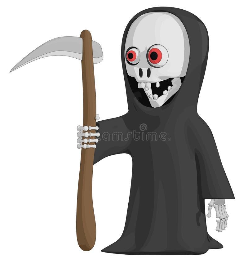 Download Grim Reaper stock vector. Illustration of black, death - 27283030