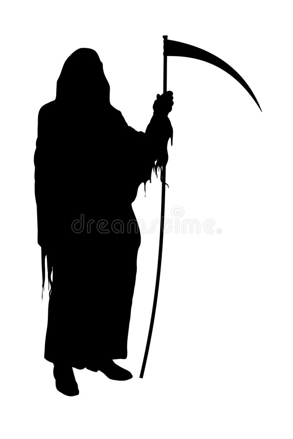 Download Grim Reaper stock illustration. Image of artwork, dead - 4819966