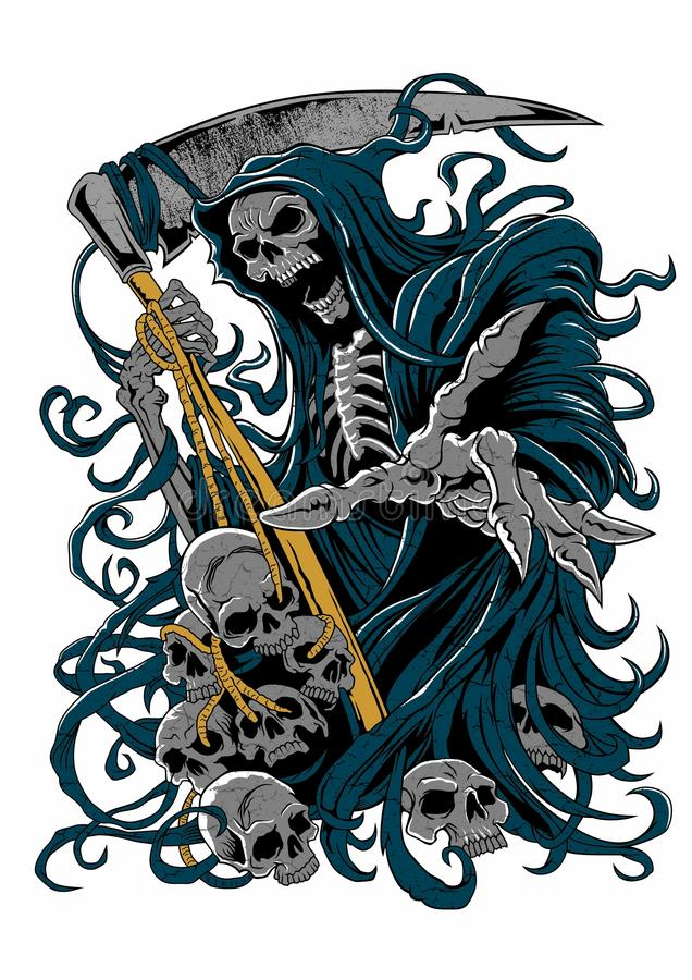 Free Grim Reaper Royalty Free Stock Images - 49415879