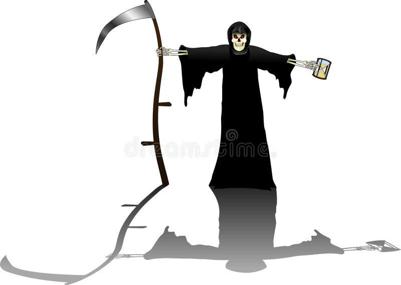 Grim_reaper_full στοκ φωτογραφία με δικαίωμα ελεύθερης χρήσης