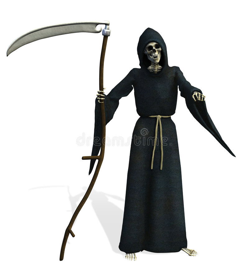 Grim Reaper - includes clipping path vector illustration