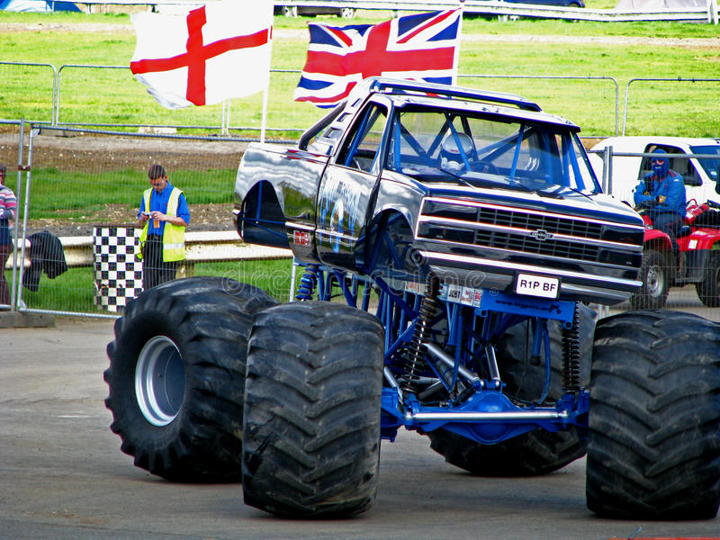 Download Grim Reaper Monster Truck editorial photo. Image of competition - 14114556