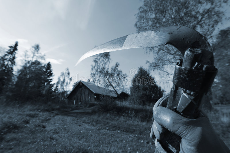 Download Grim Reaper On The Move Stock Photo - Image: 6699020