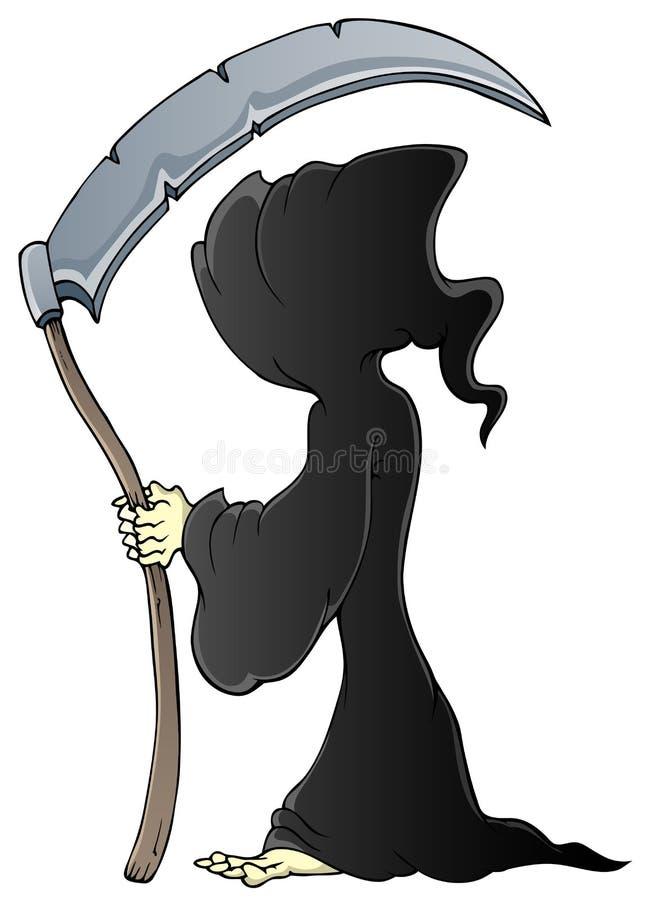 Download Grim reaper theme image 1 stock vector. Image of reaper - 26443400