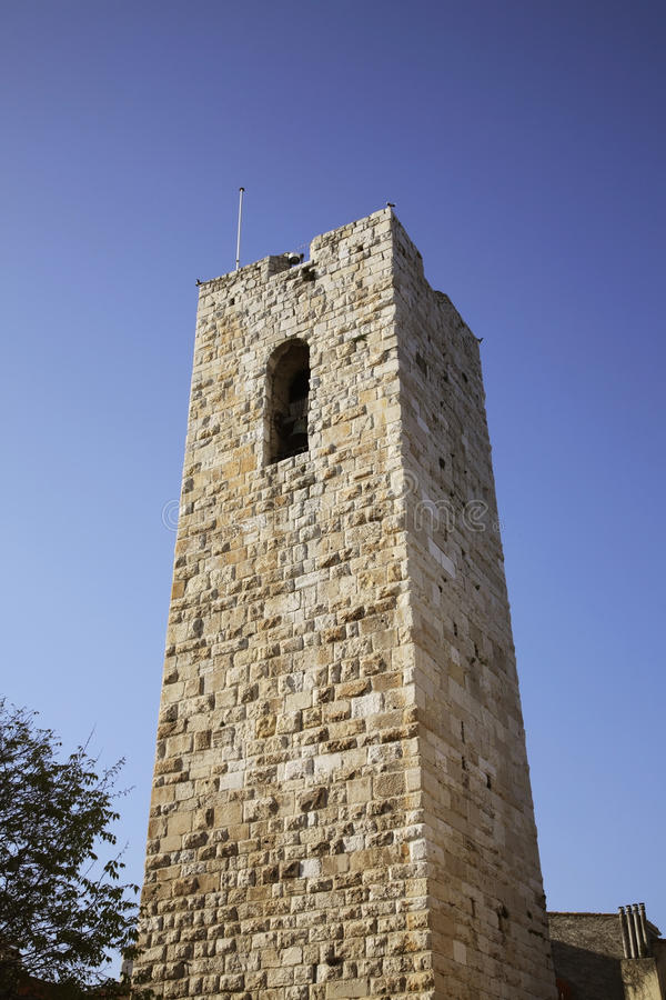 Grimaldi castle in Antibes. France.  royalty free stock photography