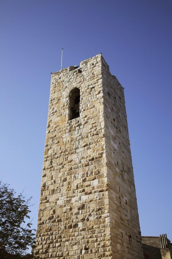 Grimaldi kasztel w Antibes Francja fotografia royalty free