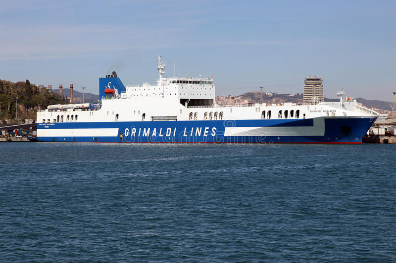 Grimaldi Lines. The Grimaldi family has had links to shipping for many generations. According to their own records, the oldest written records linking the stock photography