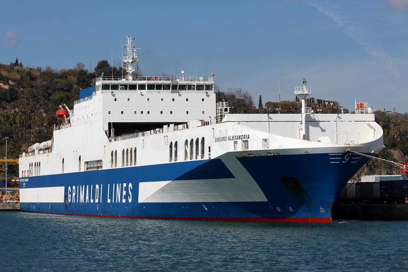 Grimaldi Lines. The Grimaldi family has had links to shipping for many generations. According to their own records, the oldest written records linking the stock image