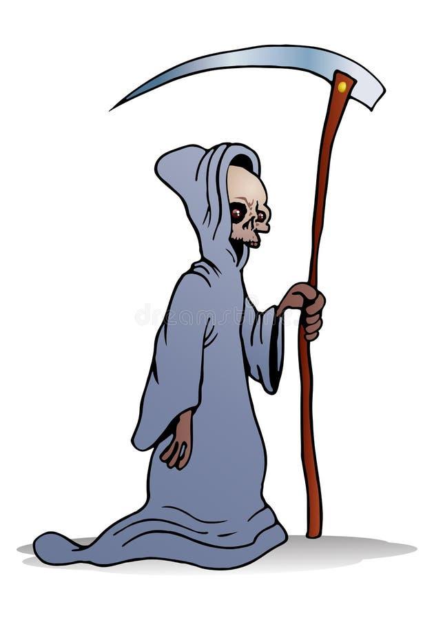 Download Grimm reaper stock illustration. Image of cloak, blood - 31615245