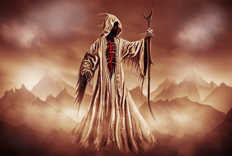 Grimmiger Reaper lizenzfreie abbildung