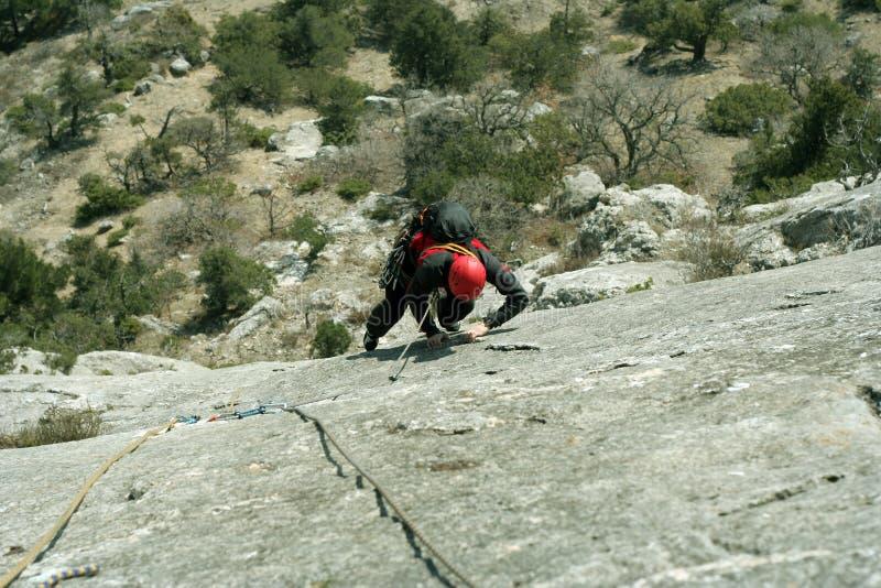 grimpeur photos stock
