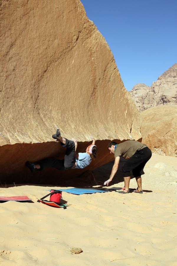 grimpeur photographie stock