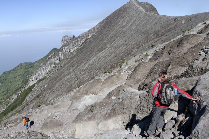 grimpeur photo libre de droits