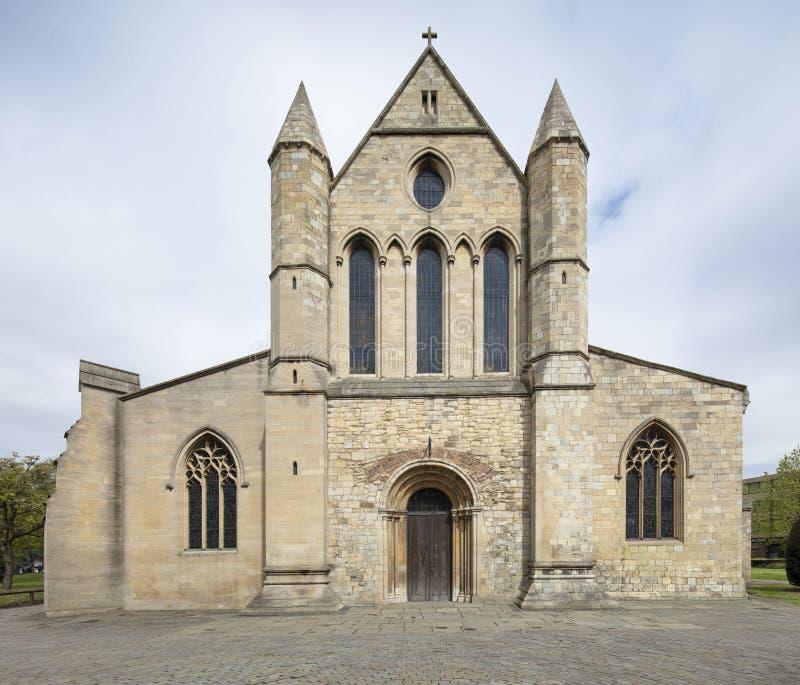 Grimsby, βορειοανατολικό Λινκολνσάιρ, UK, το Μάιο του 2019, άποψη του μοναστηριακού ναού Grimsby στοκ εικόνες
