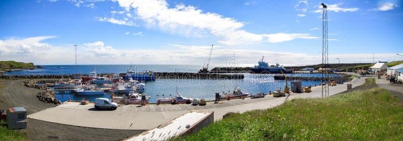 Grimsey海岛 库存图片