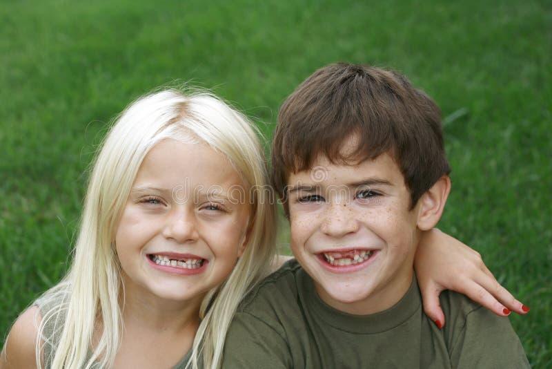 Grin senza denti fotografie stock libere da diritti