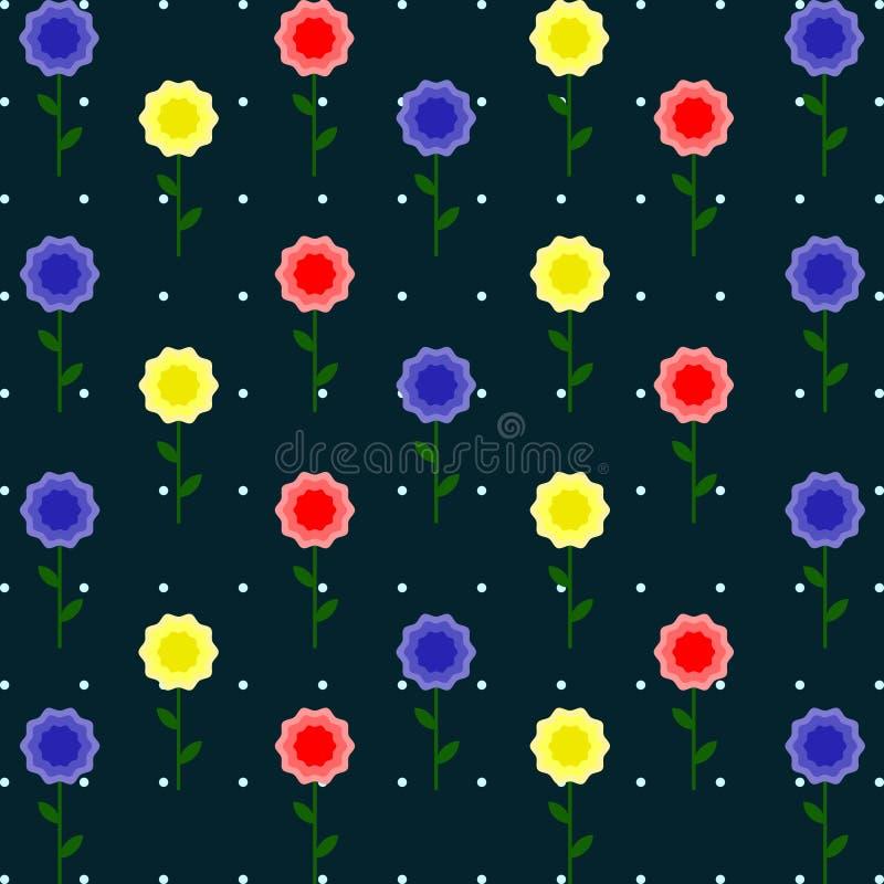 Grinalda de flores tropicais imagens de stock royalty free