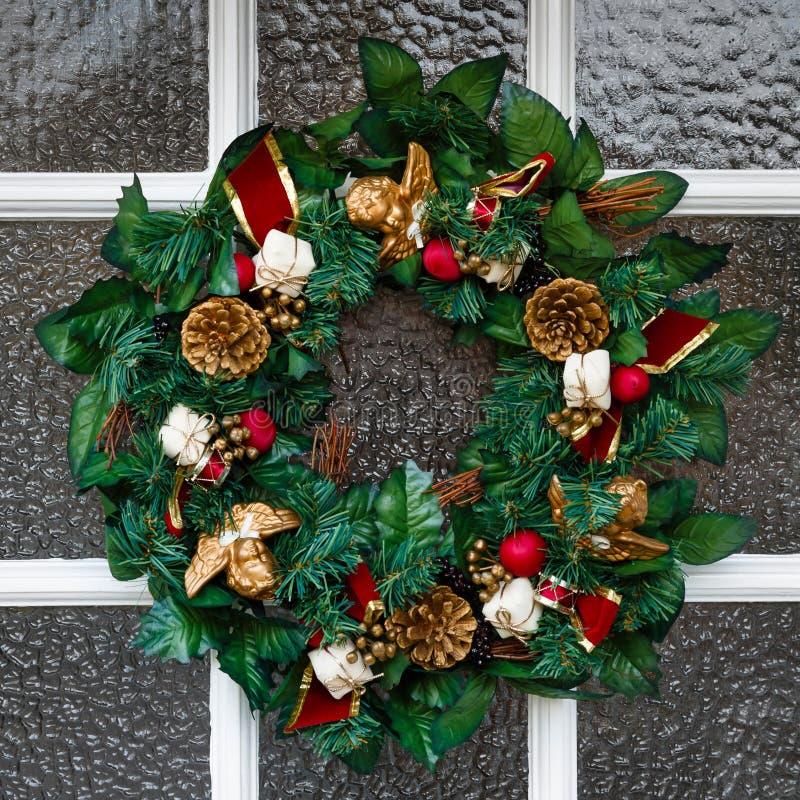Grinalda do Natal imagens de stock royalty free