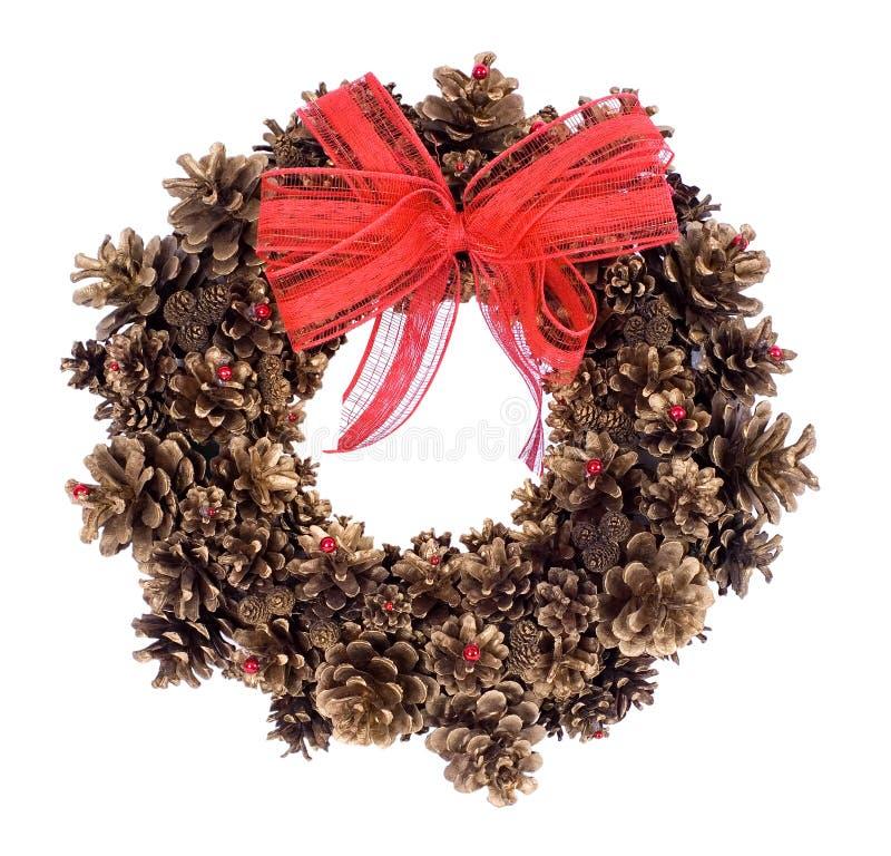 Grinalda do Natal fotografia de stock