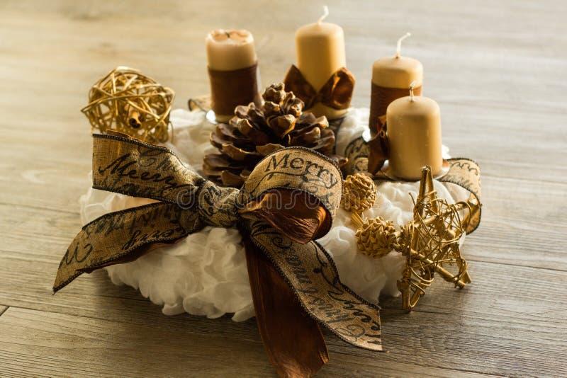Grinalda do Natal foto de stock