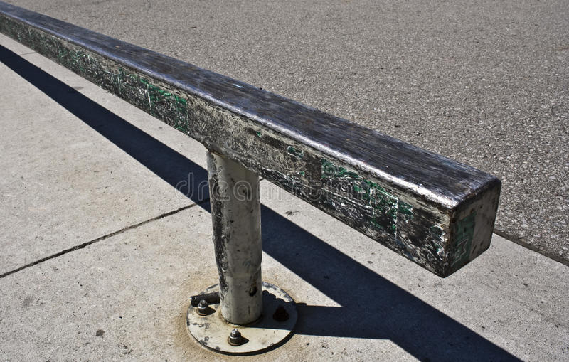 Download Grind Rail stock image. Image of concrete, sk8rboi, games - 10777383