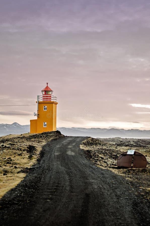 Grindavik Island arkivbild