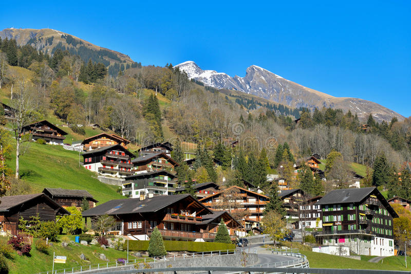 Grindelwald photographie stock