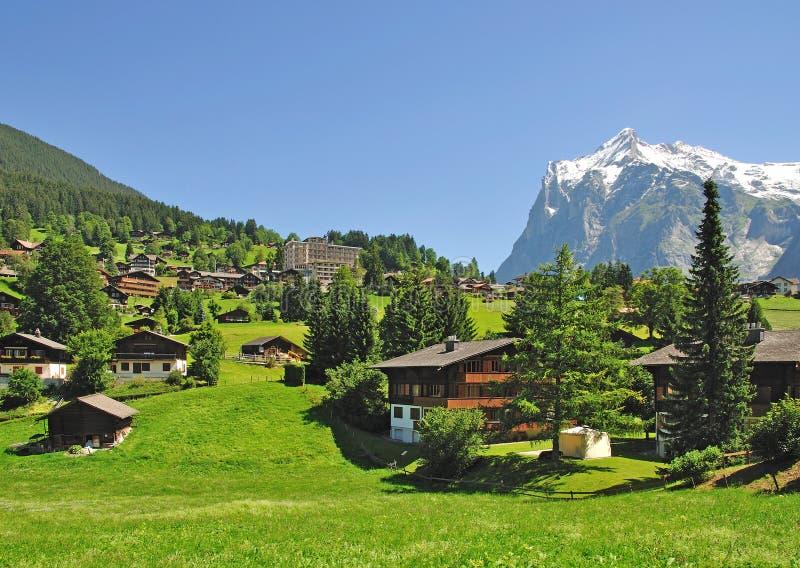 Grindelwald, Bernese Oberland, Switzerland imagens de stock